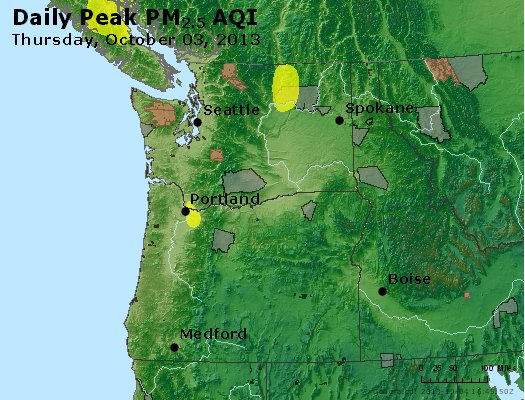 Peak Particles PM2.5 (24-hour) - https://files.airnowtech.org/airnow/2013/20131003/peak_pm25_wa_or.jpg