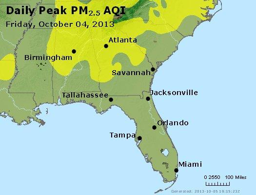 Peak Particles PM2.5 (24-hour) - https://files.airnowtech.org/airnow/2013/20131004/peak_pm25_al_ga_fl.jpg