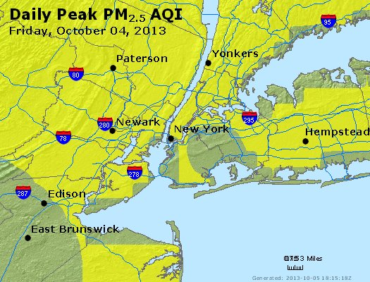 Peak Particles PM<sub>2.5</sub> (24-hour) - https://files.airnowtech.org/airnow/2013/20131004/peak_pm25_newyork_ny.jpg