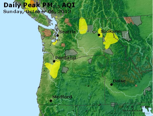 Peak Particles PM2.5 (24-hour) - https://files.airnowtech.org/airnow/2013/20131006/peak_pm25_wa_or.jpg