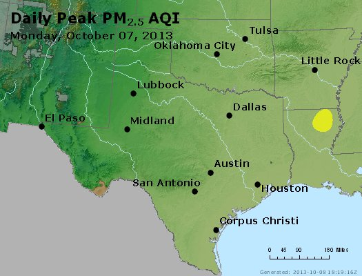 Peak Particles PM2.5 (24-hour) - https://files.airnowtech.org/airnow/2013/20131007/peak_pm25_tx_ok.jpg