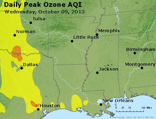 Peak Ozone (8-hour) - https://files.airnowtech.org/airnow/2013/20131009/peak_o3_ar_la_ms.jpg