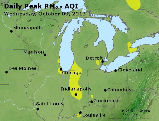 Peak Particles PM2.5 (24-hour) - https://files.airnowtech.org/airnow/2013/20131009/peak_pm25_mi_in_oh.jpg