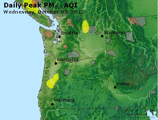 Peak Particles PM2.5 (24-hour) - https://files.airnowtech.org/airnow/2013/20131009/peak_pm25_wa_or.jpg