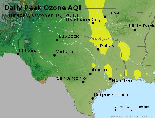 Peak Ozone (8-hour) - https://files.airnowtech.org/airnow/2013/20131010/peak_o3_tx_ok.jpg