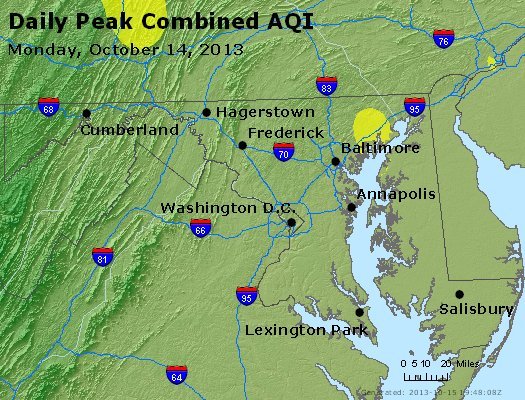 Peak AQI - https://files.airnowtech.org/airnow/2013/20131014/peak_aqi_maryland.jpg