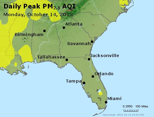 Peak Particles PM2.5 (24-hour) - https://files.airnowtech.org/airnow/2013/20131014/peak_pm25_al_ga_fl.jpg