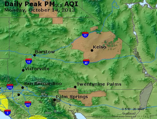 Peak Particles PM<sub>2.5</sub> (24-hour) - https://files.airnowtech.org/airnow/2013/20131014/peak_pm25_sanbernardino_ca.jpg