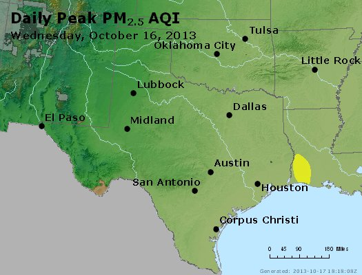 Peak Particles PM2.5 (24-hour) - https://files.airnowtech.org/airnow/2013/20131016/peak_pm25_tx_ok.jpg