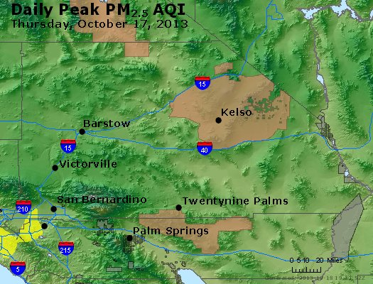 Peak Particles PM<sub>2.5</sub> (24-hour) - https://files.airnowtech.org/airnow/2013/20131017/peak_pm25_sanbernardino_ca.jpg