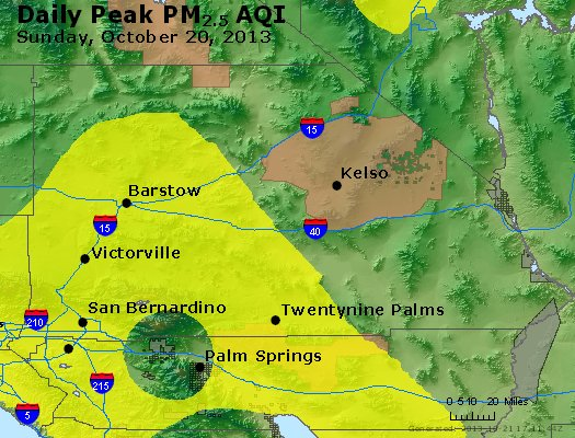Peak Particles PM<sub>2.5</sub> (24-hour) - https://files.airnowtech.org/airnow/2013/20131020/peak_pm25_sanbernardino_ca.jpg