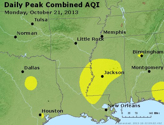 Peak AQI - https://files.airnowtech.org/airnow/2013/20131021/peak_aqi_ar_la_ms.jpg