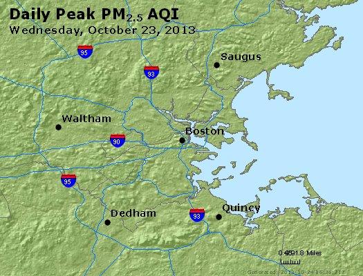 Peak Particles PM2.5 (24-hour) - https://files.airnowtech.org/airnow/2013/20131023/peak_pm25_boston_ma.jpg