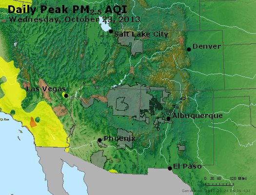 Peak Particles PM2.5 (24-hour) - https://files.airnowtech.org/airnow/2013/20131023/peak_pm25_co_ut_az_nm.jpg