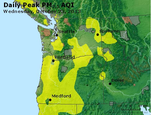 Peak Particles PM2.5 (24-hour) - https://files.airnowtech.org/airnow/2013/20131023/peak_pm25_wa_or.jpg