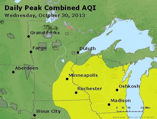 Peak AQI - https://files.airnowtech.org/airnow/2013/20131030/peak_aqi_mn_wi.jpg