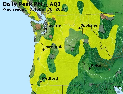 Peak Particles PM2.5 (24-hour) - https://files.airnowtech.org/airnow/2013/20131030/peak_pm25_wa_or.jpg