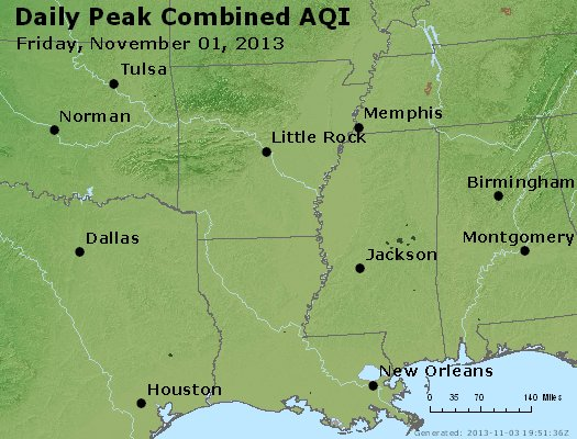 Peak AQI - https://files.airnowtech.org/airnow/2013/20131102/peak_aqi_ar_la_ms.jpg