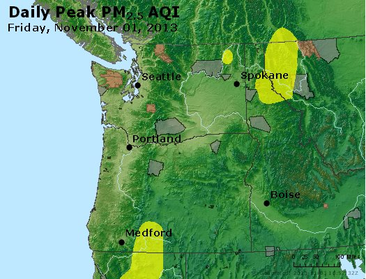 Peak Particles PM2.5 (24-hour) - https://files.airnowtech.org/airnow/2013/20131102/peak_pm25_wa_or.jpg