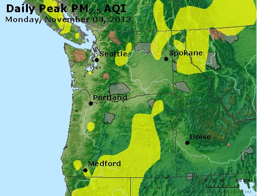 Peak Particles PM2.5 (24-hour) - https://files.airnowtech.org/airnow/2013/20131104/peak_pm25_wa_or.jpg