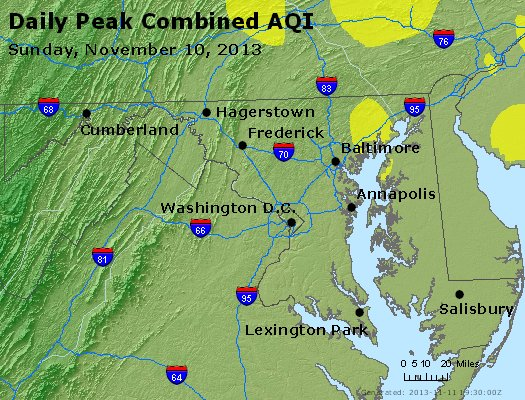 Peak AQI - https://files.airnowtech.org/airnow/2013/20131110/peak_aqi_maryland.jpg