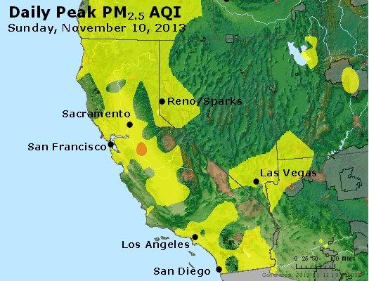 Peak Particles PM2.5 (24-hour) - https://files.airnowtech.org/airnow/2013/20131110/peak_pm25_ca_nv.jpg