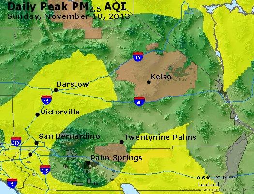 Peak Particles PM2.5 (24-hour) - https://files.airnowtech.org/airnow/2013/20131110/peak_pm25_sanbernardino_ca.jpg