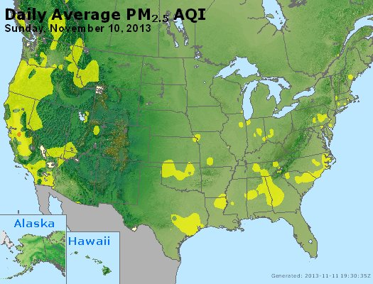 Peak Particles PM2.5 (24-hour) - https://files.airnowtech.org/airnow/2013/20131110/peak_pm25_usa.jpg