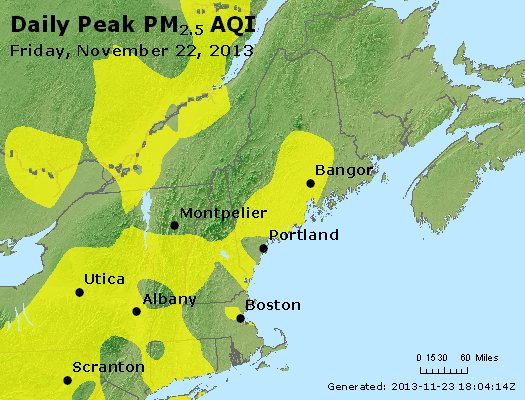 Peak Particles PM2.5 (24-hour) - https://files.airnowtech.org/airnow/2013/20131122/peak_pm25_vt_nh_ma_ct_ri_me.jpg
