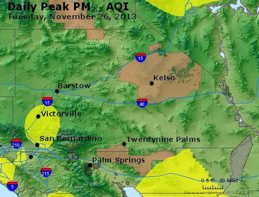 Peak Particles PM2.5 (24-hour) - https://files.airnowtech.org/airnow/2013/20131126/peak_pm25_sanbernardino_ca.jpg