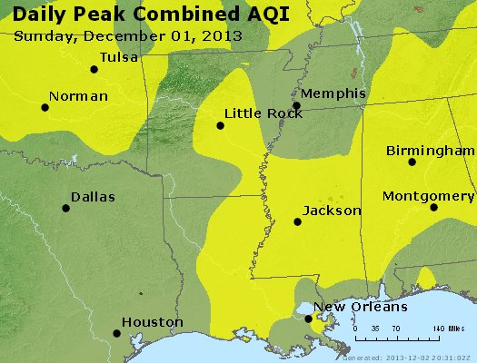 Peak AQI - https://files.airnowtech.org/airnow/2013/20131201/peak_aqi_ar_la_ms.jpg