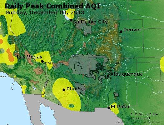 Peak AQI - https://files.airnowtech.org/airnow/2013/20131201/peak_aqi_co_ut_az_nm.jpg