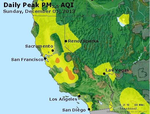 Peak Particles PM2.5 (24-hour) - https://files.airnowtech.org/airnow/2013/20131201/peak_pm25_ca_nv.jpg