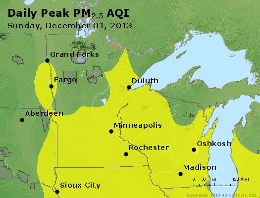 Peak Particles PM2.5 (24-hour) - https://files.airnowtech.org/airnow/2013/20131201/peak_pm25_mn_wi.jpg