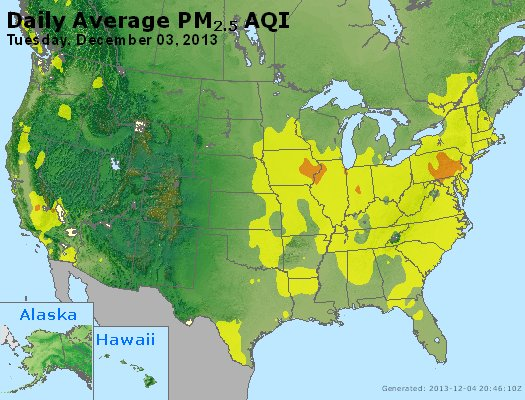 Peak Particles PM2.5 (24-hour) - https://files.airnowtech.org/airnow/2013/20131203/peak_pm25_usa.jpg