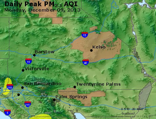 Peak Particles PM<sub>2.5</sub> (24-hour) - https://files.airnowtech.org/airnow/2013/20131209/peak_pm25_sanbernardino_ca.jpg