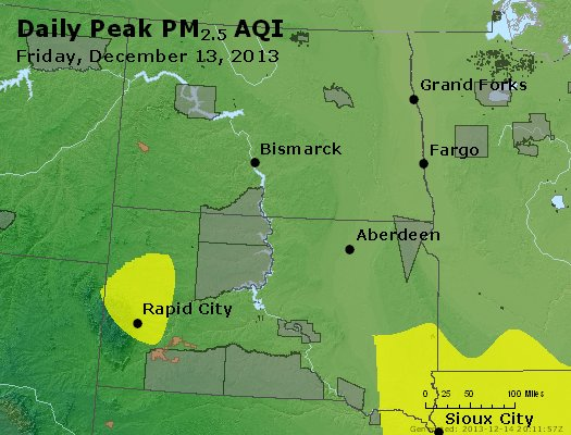 Peak Particles PM2.5 (24-hour) - https://files.airnowtech.org/airnow/2013/20131213/peak_pm25_nd_sd.jpg