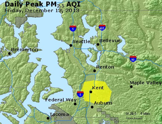 Peak Particles PM<sub>2.5</sub> (24-hour) - https://files.airnowtech.org/airnow/2013/20131213/peak_pm25_seattle_wa.jpg