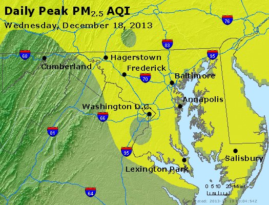 Peak Particles PM2.5 (24-hour) - https://files.airnowtech.org/airnow/2013/20131218/peak_pm25_maryland.jpg