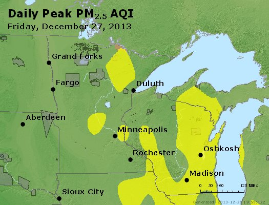 Peak Particles PM2.5 (24-hour) - https://files.airnowtech.org/airnow/2013/20131227/peak_pm25_mn_wi.jpg