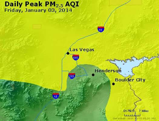 Peak Particles PM<sub>2.5</sub> (24-hour) - https://files.airnowtech.org/airnow/2014/20140103/peak_pm25_lasvegas_nv.jpg