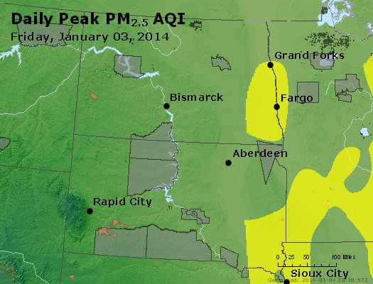 Peak Particles PM2.5 (24-hour) - https://files.airnowtech.org/airnow/2014/20140103/peak_pm25_nd_sd.jpg