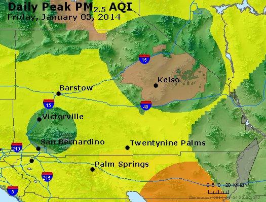 Peak Particles PM2.5 (24-hour) - https://files.airnowtech.org/airnow/2014/20140103/peak_pm25_sanbernardino_ca.jpg