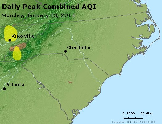 Peak AQI - https://files.airnowtech.org/airnow/2014/20140113/peak_aqi_nc_sc.jpg