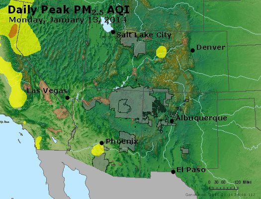 Peak Particles PM2.5 (24-hour) - https://files.airnowtech.org/airnow/2014/20140113/peak_pm25_co_ut_az_nm.jpg