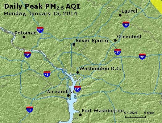 Peak Particles PM2.5 (24-hour) - https://files.airnowtech.org/airnow/2014/20140113/peak_pm25_washington_dc.jpg