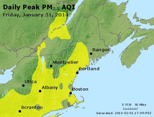 Peak Particles PM<sub>2.5</sub> (24-hour) - https://files.airnowtech.org/airnow/2014/20140131/peak_pm25_vt_nh_ma_ct_ri_me.jpg