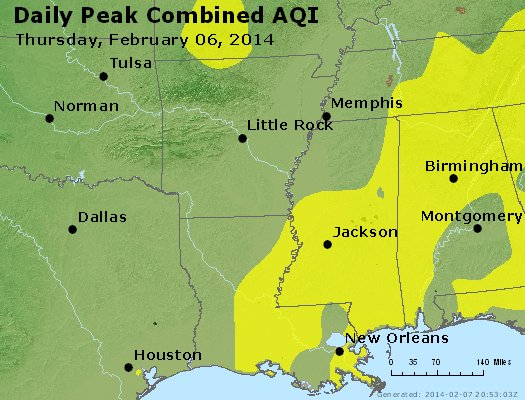 Peak AQI - https://files.airnowtech.org/airnow/2014/20140206/peak_aqi_ar_la_ms.jpg