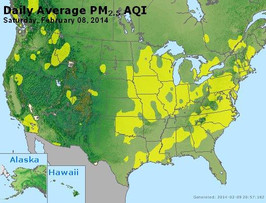 Peak Particles PM<sub>2.5</sub> (24-hour) - https://files.airnowtech.org/airnow/2014/20140208/peak_pm25_usa.jpg