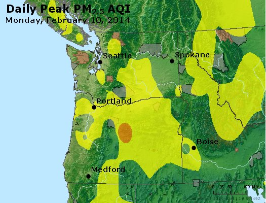 Peak Particles PM2.5 (24-hour) - https://files.airnowtech.org/airnow/2014/20140210/peak_pm25_wa_or.jpg